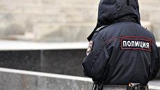 Сотрудник полиции. Архивное фото