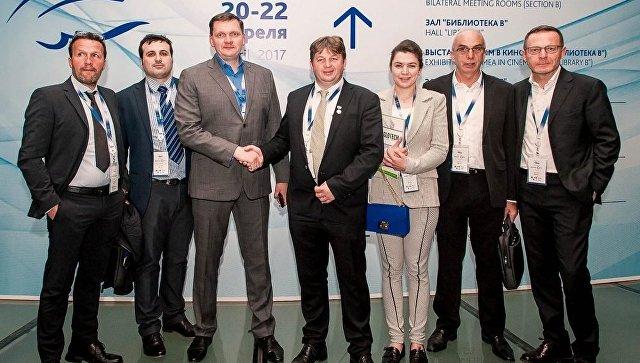 На ЯМЭФ президент Группы компаний КСК провел переговоры с представителями делегации из Италии