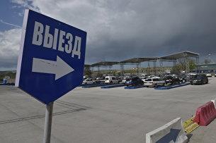 В порту Керчь Керченской паромной переправы открыли новую накопительную площадку для автомобилей