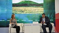 Заместитель министра экологии и природных ресурсов Республики Крым Сергей Компанейцев