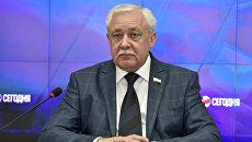 Председатель Национально-культурной автономии немцев Крыма, депутат Государственного совета РК Юрий Гемпель