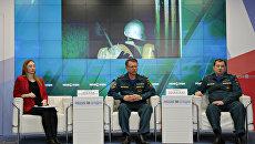 Пресс-конференция, приуроченная ко Дню пожарной охраны Российской Федерации
