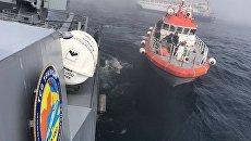 Операция по спасению членов экипажа судна Лиман