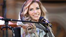 Юлия Самойлова приняла участие в концерте Песни великой Победы