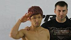 Участник чемпионата по ММА Prime Crimea II из Японии Такаши Мацуба