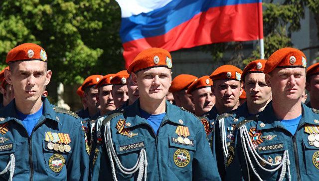 Празднование в Севастополе 368 лет со Дня основания пожарной охраны в России