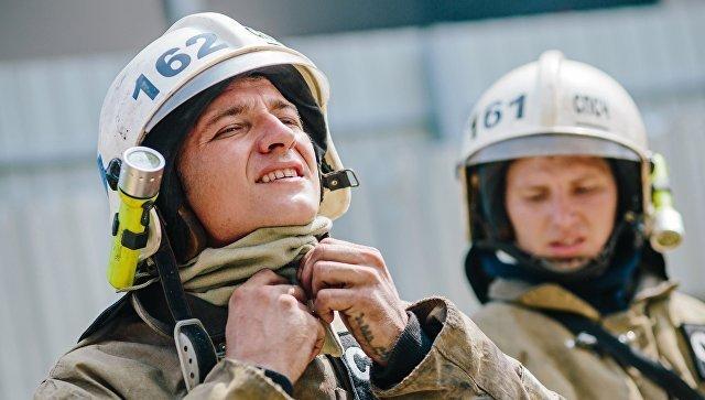 Пожарные. Архивное фото