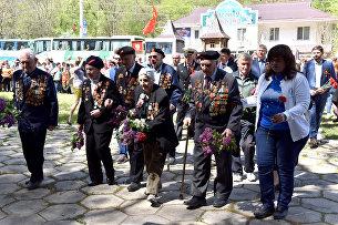 Партизанская маевка на Ангарском перевале. 2 мая 2017 года