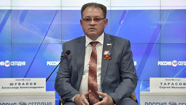 Председатель Комитета по труду, социальной защите, здравоохранению и делам ветеранов Государственного Совета РК Александр Шувалов