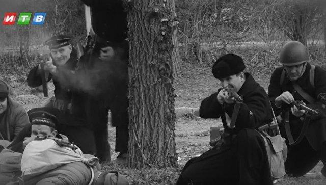 Скриншот с трейлера фильма Черные бушлаты