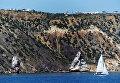 Мыс Фиолент на Гераклейском полуострове на юго-западном побережье Крыма, в Балаклавском районе Севастополя