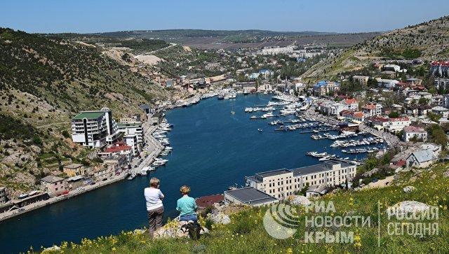 Вид на Балаклавскую бухту, Севастополь