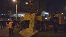 В Одессе демонтируют памятный камень маршалу Жукову