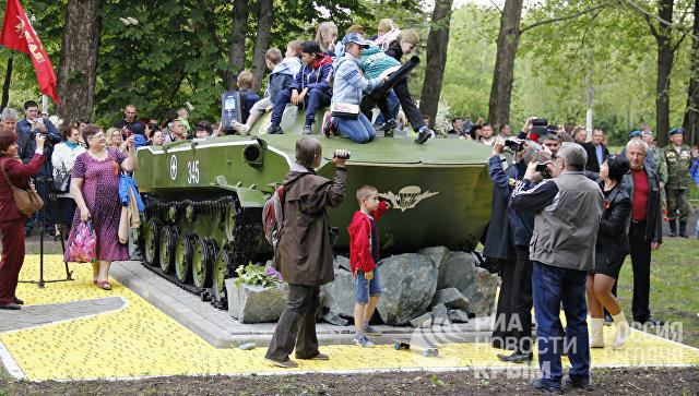 ВСимферополе открыли мемориал «Честь, Доблесть иСлава»