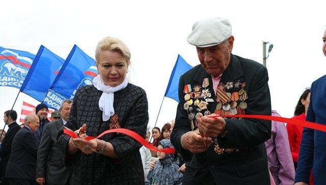 Открытие Аллеи Героев в Керчи