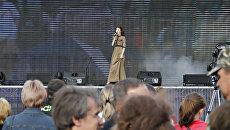 В Симферополе проходит праздничный концерт, посвященный Дню Победы