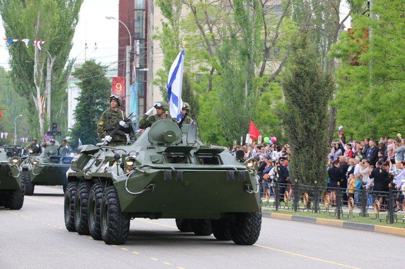 Военный парад в Керчи