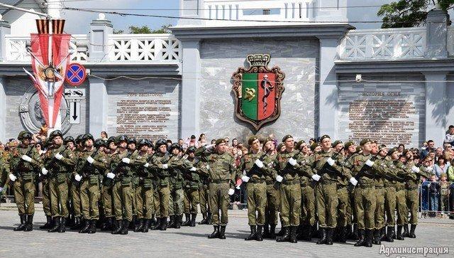 Празднование Дня Победы в Евпатории