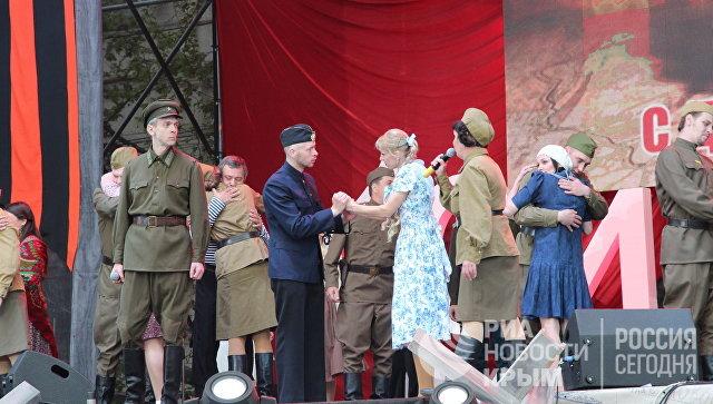 Концерт в честь Дня Победы в Севастополе