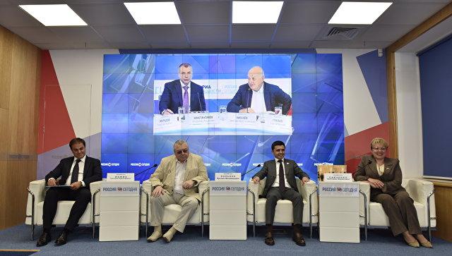 Руководитель крымского парламента представил книгу о«Крымской весне»