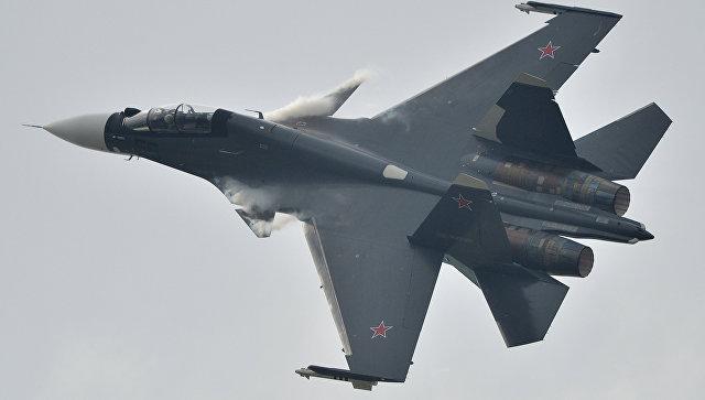 Истребитель Су-30. Архивное фото