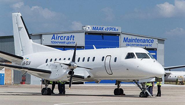 Самолет украинской авиакомпании УРГА. Архивное фото