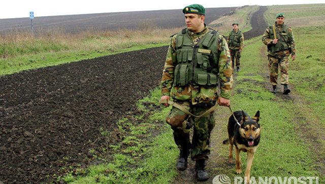 Украинские пограничники. Архивное фото