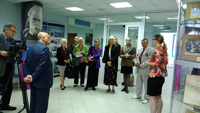 Представители Центра гражданских инициатив США посетили музей КФУ