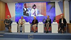 Пресс-конференция Крым глазами американских граждан: ожидания и реальность