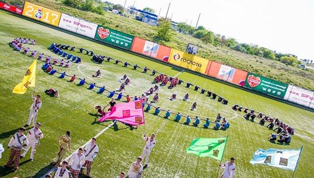 Финальный этап Национальной студенческой футбольной лиги на базе спорткомплекса Арена-Крым в Евпатории