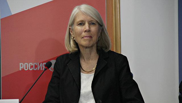 Представитель Центра гражданских инициатив США Кимберли Вайхель