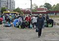 Рейд по борьбе с несанкционированной торговлей в Симферополе