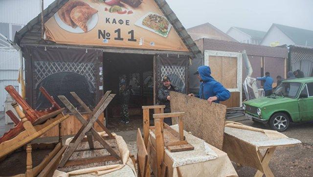 На плато Ай-Петри начался добровольный снос самостроев