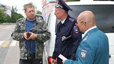 Рейд сотрудников Управления Федеральной налоговой службы России по Республике Крым