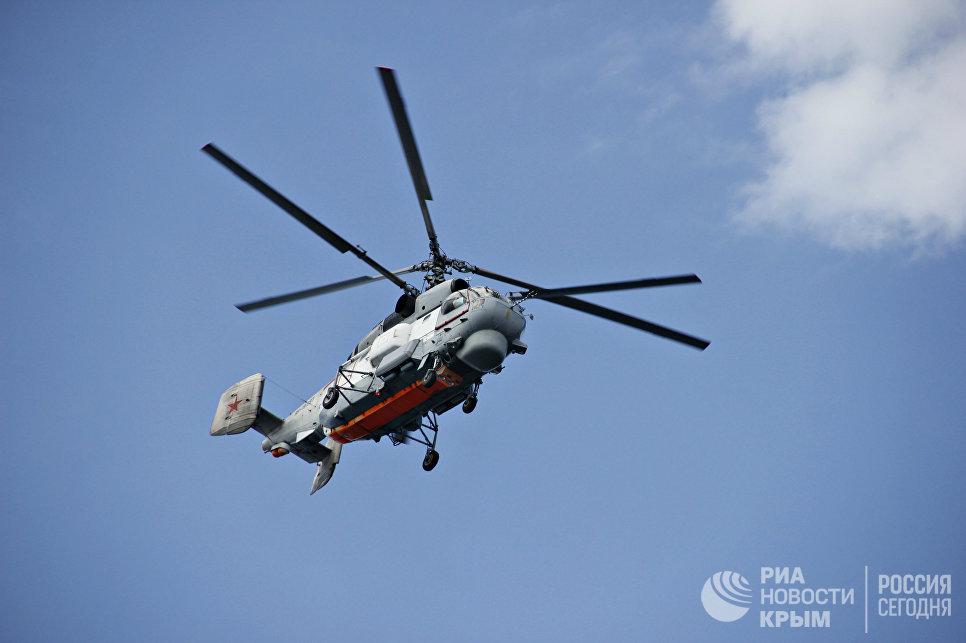 Крупномасштабные учения Центра специального назначения ФСБ России по борьбе с терроризмом на объектах Черноморнефтегаза в Крыму