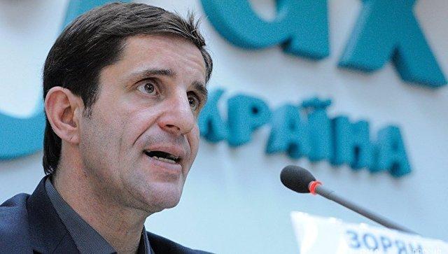 Советник министра внутренних дел Украины Зорян Шкиряк. Архивное фото