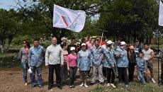Акция по благоустройству зоны отдыха в селе Калиновка Джанкойского района