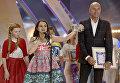 Победительница международного конкурса молодых исполнителей популярной музыки Детская Новая волна Анаит Адамян (Армения)
