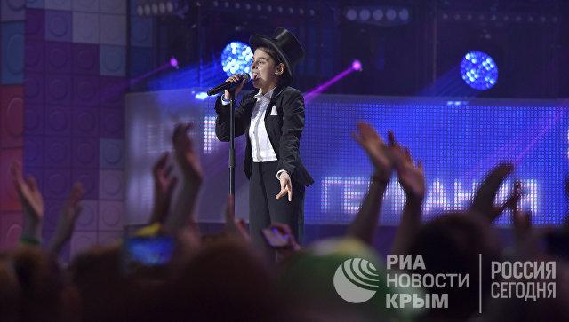 Участник международного конкурса молодых исполнителей популярной музыки Детская Новая волна в МДЦ Артек