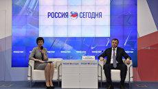 Пресс-конференция министра экологии и природных ресурсов Республики Крым Геннадия Нараева