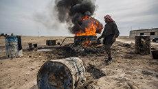 Мужчина в окрестностях Ракки