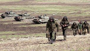 Бойцы Народной милиции Луганской народной республики