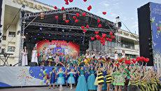 Праздничное шествие по случаю 233-летия основания Симферополя