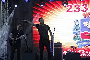 Певец Родион Газманов на концерте по случаю Дня города Симферополя