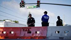 Полицейские в Орландо, США