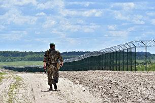 Украина. Граница. Архивное фото