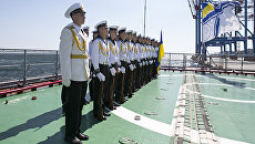 Украинские моряки. Архивное фото