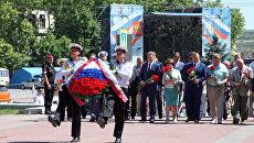 Праздничное мероприятие в Севастополе, посвященное Дню России. 2017 год