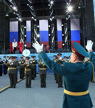 В Севастополе прошел международный фестиваль военных оркестров