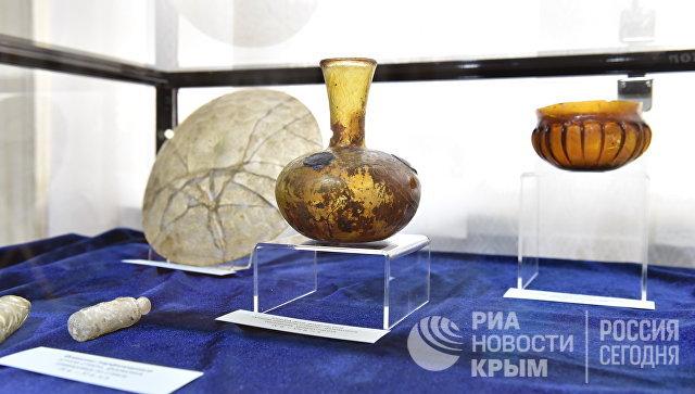 Экспонаты выставки Достояние Республики. ФСБ России против черной археологии